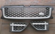 Gril grijs en zilver mat met zijkant vents 2009-2013