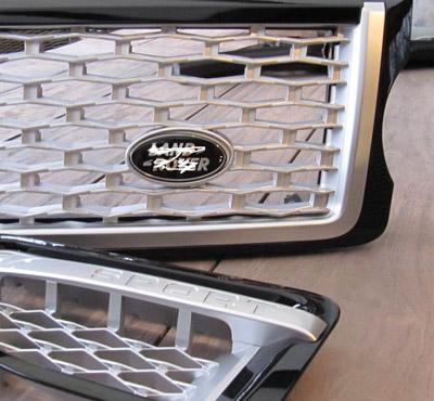 Range-Rover-2005-2009–Sport-L320-Gril–Vent-Autobiography-design-zwart-met-zilver-mat-gaas-2