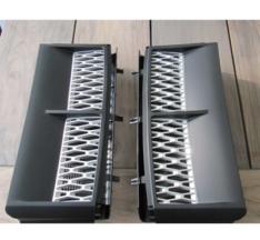 Side vents L322 2002-2013 mat zwart