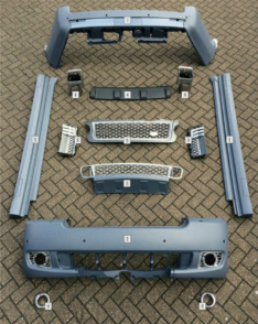 pattern EDP body kit