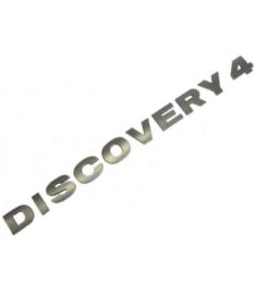 Discovery 4 achterklep belettering zilver