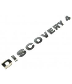 Discovery 4 achterklep belettering chroom