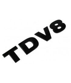 TDV8  letters