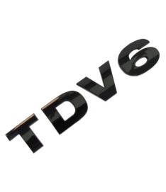 TDV6 3D letters