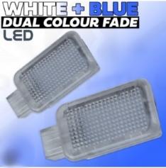 Instap verlichting wit > blauw