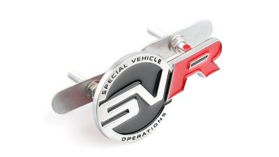 SVR badge gril
